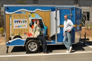 Richie and Carina Veverka, Kona Ice Franchisees