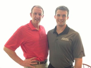 Mark (left) and Michael Mooney, BrightStar Care Franchisees