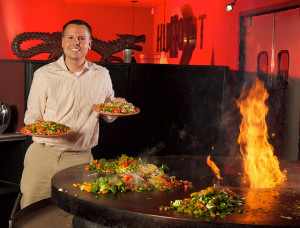 HuHot Mongolian Grill Photo by Fox Valley Technical College