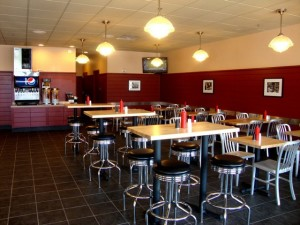 Jake's Wayback Burgers Interior 2