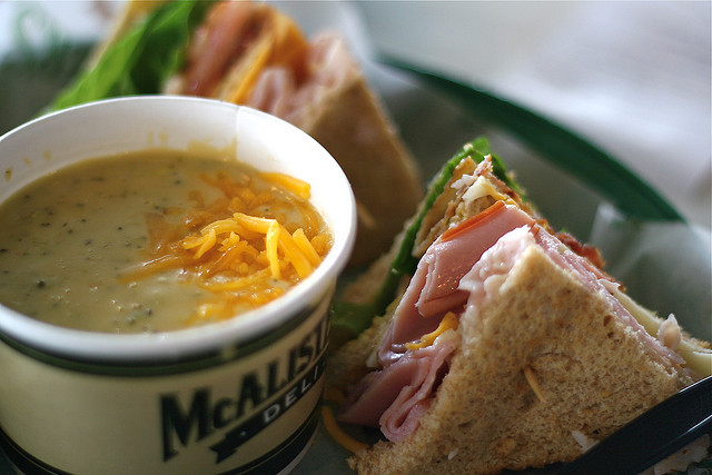 McAlister's Deli Photo by 10outofsomething