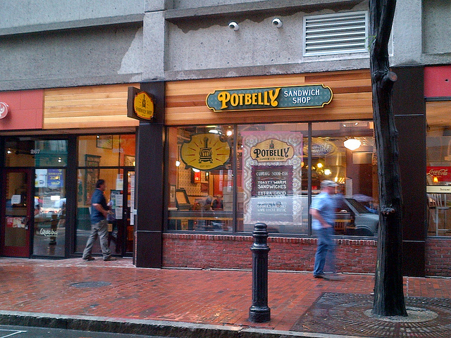 Potbelly Sandwich Shop Photo by kbmaloney