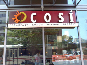 Cosi Restaurant Photo by sara~