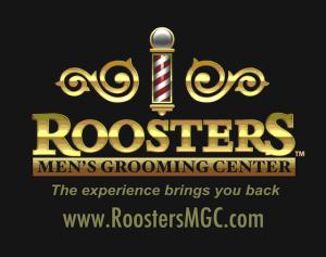 Rooster's Men's Grooming Center Logo