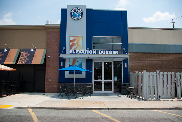 Elevation Burger Exterior Photo by maxfisher