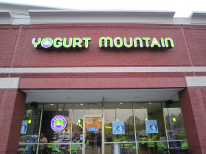 Yogurt Mountain Photo by Memphis Foodie