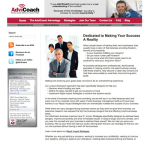 AdviCoach Image by Franchise Source Brands