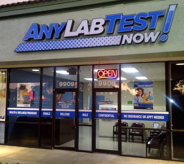 Any Lab Test Now - Miramar