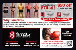 Farrell's Extreme Bodyshaping Coupon