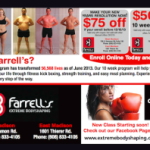 FDD Talk:  Average Service Gross Sales and First-Time Student Enrollment for Farrell's Extreme Bodyshaping Centers (2013 FDD)