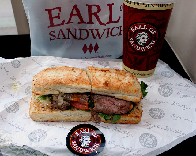 Earl of Sandwich Photo by Prayitno