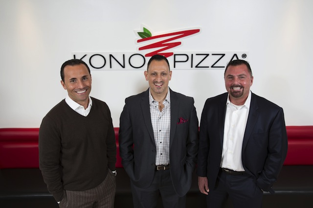 Co-Founders of Kono Pizza U.S.