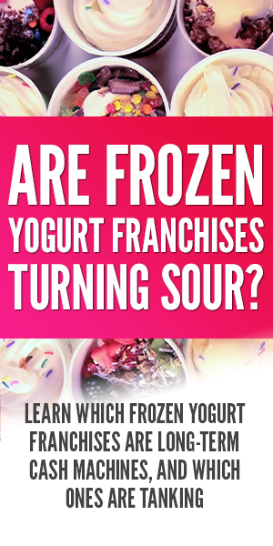 Are Frozen Yogurt Franchises Turning Sour?