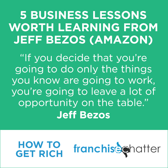 Business Lessons from Jeff Bezos