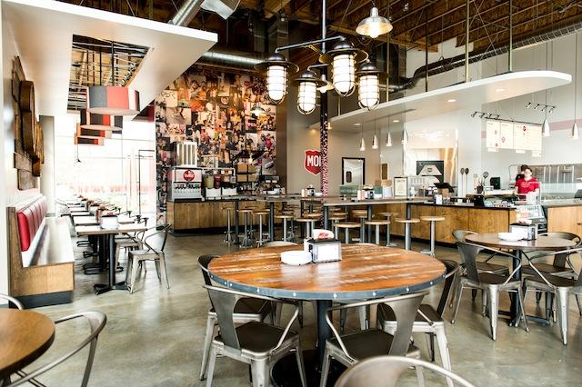MOD Pizza Interior
