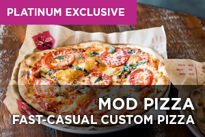 MOD Pizza, a Fast-Casual Custom Pizza Franchise