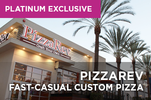 PizzaRev Fast-Casual Custom Pizza Franchise