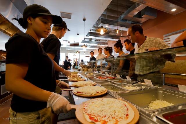 Pizza Rev Line