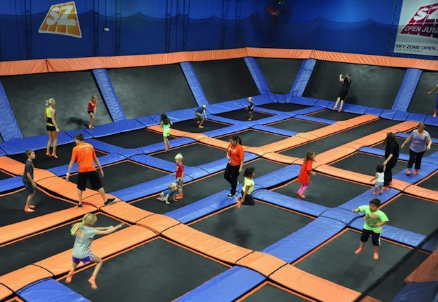 Sky Zone Indoor Trampoline Park by nymetroparents.com