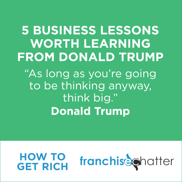 Donald Trump Business Lessons