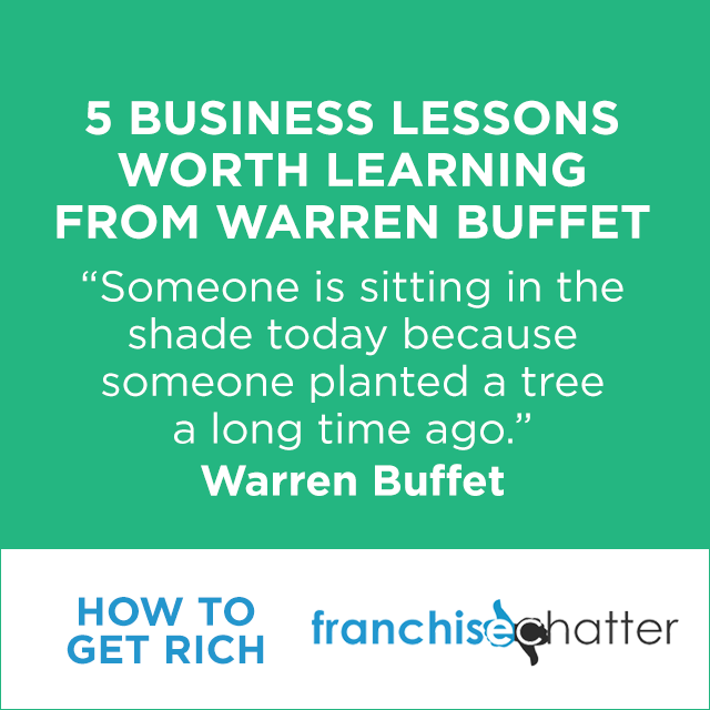 Warren Buffet Business Lessons