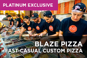 Blaze Pizza Fast-Casual Custom Pizza