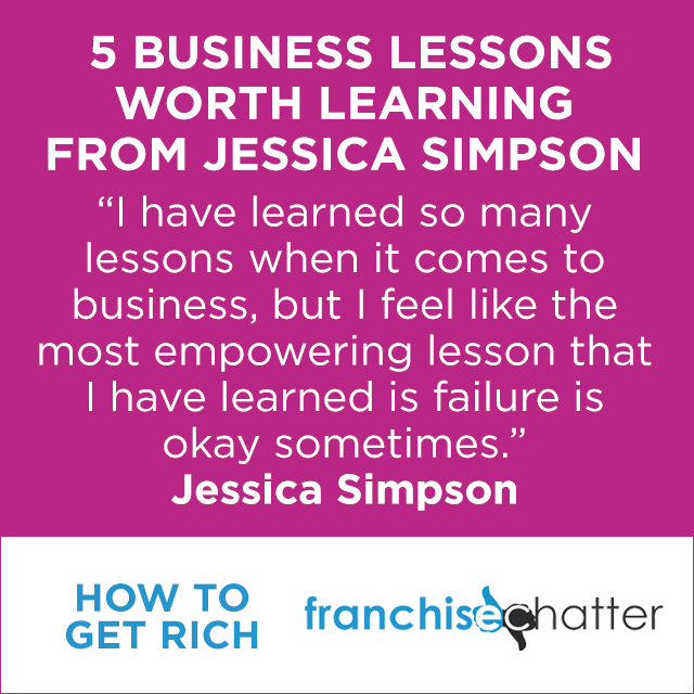 Jessica Simpson Business Lessons