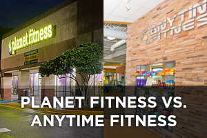 Planet Fitness vs. Anytime Fitness