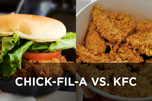 Chick-fil-A vs. KFC main