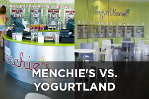 Menchie's vs. Yogurtland