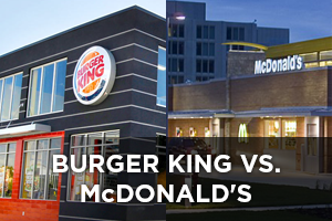 McDonald's vs. Burger King