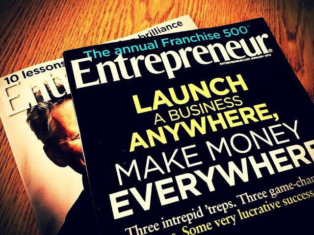 Entrepreneur Photo by Brian Wilkins