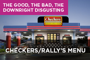 Checkers/Rally's Menu