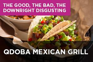 Qdoba Mexican Grill Menu