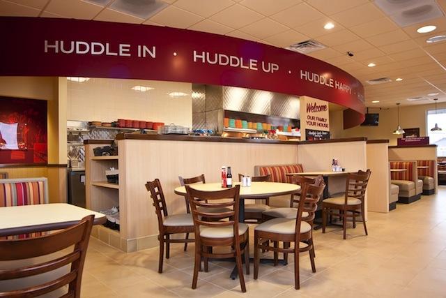 Huddle House Photo from greenbergfarrow.com
