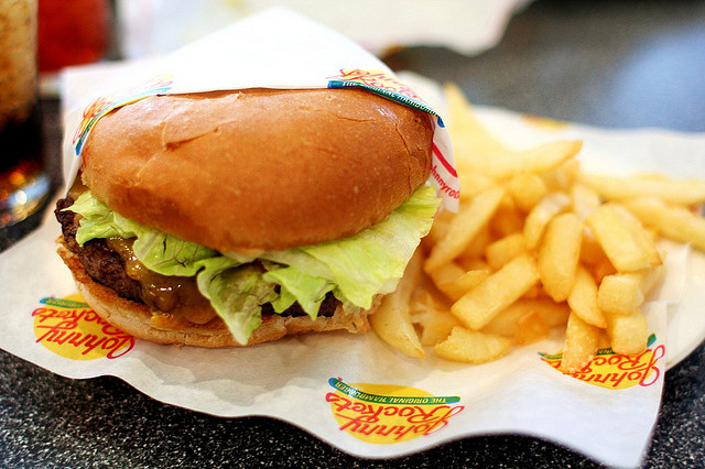 Johnny Rockets Photo by Scott Schrantz