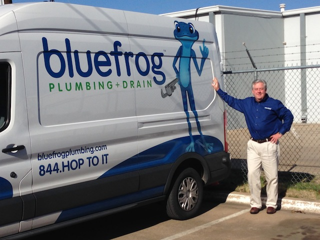 Bob White, franchisee of bluefrog Plumbing + Drain