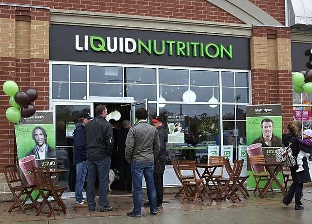 Liquid Nutrition Photo by urbanspoon.com