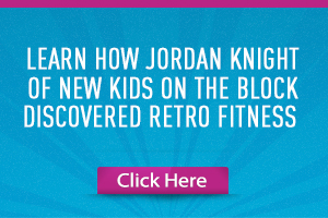 Jordan Knight Retro Fitness Franchise
