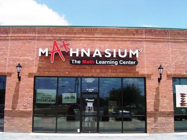 Mathnasium Photo from fastsigns.com