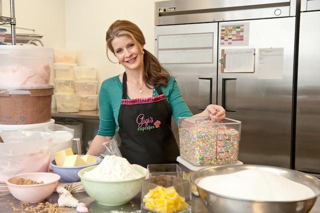 Gigi in Kitchen