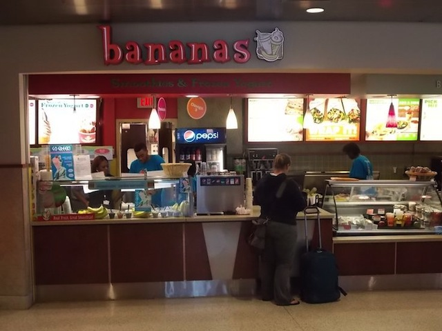 Bananas Smoothies and Frozen Yogurt