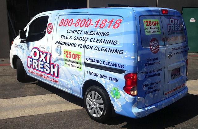 Oxi Fresh Van