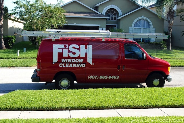 Fish Window Cleaning Photo from sewwoodsy.com