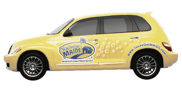 You've Got MAIDS Car