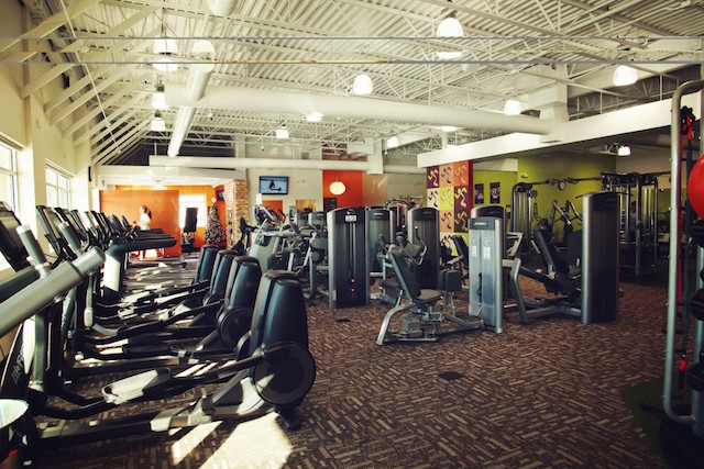 Anytime-Fitness-Club-Interior- Richfield, MN