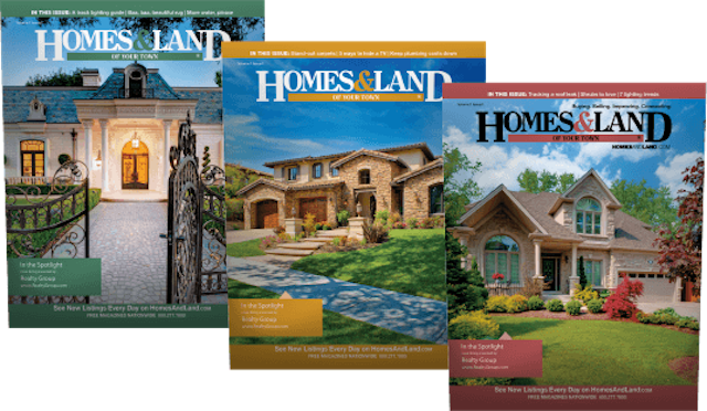Homes and Land Magazine Photo from
