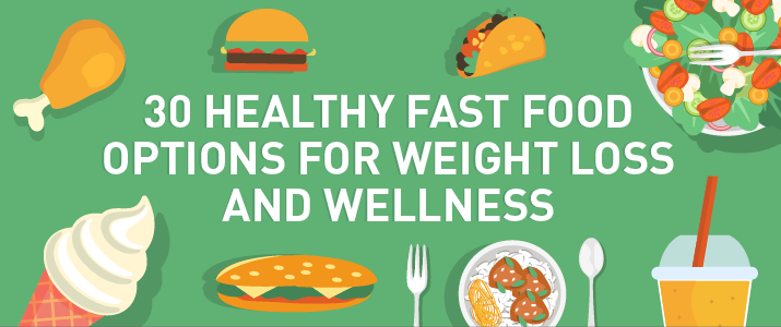 30 Healthy Fast Food Options for Diet and Nutrition