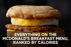 McDonald's Breakfast Menu
