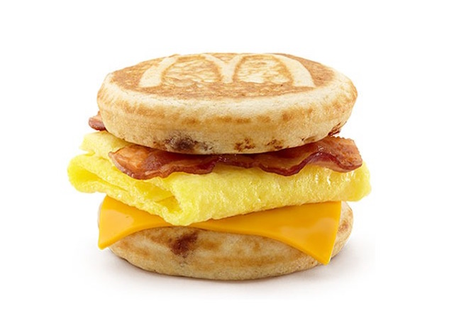 Everything On The Mcdonald S Breakfast Menu Ranked By Calories